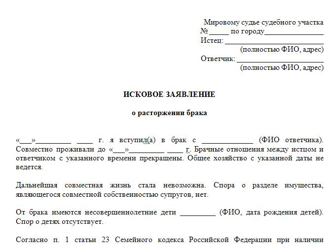 образец искового заявления по приговору суда - фото 11