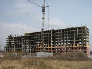 Незаконченное строительство частного дома